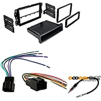CHEVROLET 2007 - 2013 SILVERADO (DOES NOT FIT 2007 CLASSIC OR OLDER BODY STYLES) CAR STEREO DASH INSTALL MOUNTING KIT WIRE HARNESS RADIO ANTENNA