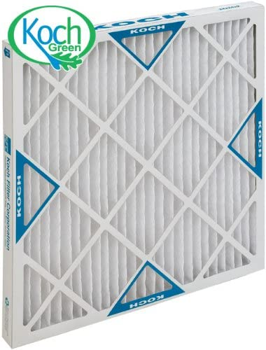 Merv 8 Capacity Xl8 Pleated Panel Ext Lot of 6 Surface 20w X 25h X 4d KochTM Filter 102-700-030 Std