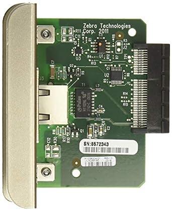 Amazon com: Zebra Technologies P1037974-001 Internal Zebranet Print