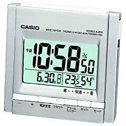 CASIO DQD-700J-8JF view temperature, humidity WAVE CEPTOR table clock radio clock (Japan Import)