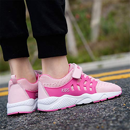 Pictures of FLORENCE IISA Kids Tennis Shoes Breathable Lightweight 3