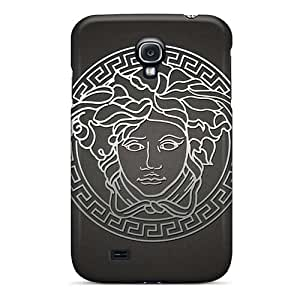 Samsung Galaxy S4 Scratch Resistant Hard Phone Covers Allow Personal Design Attractive Logo Versace Skin [pSA8151CKdl]