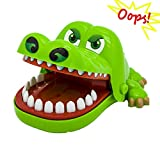 Oun Nana Crocodile Dentist (12.5 X 10 X 6.5 cm) Crocodile Biting Finger Game Funny Toys for Kids 1 to 4 Players - Ages 4 and Up
