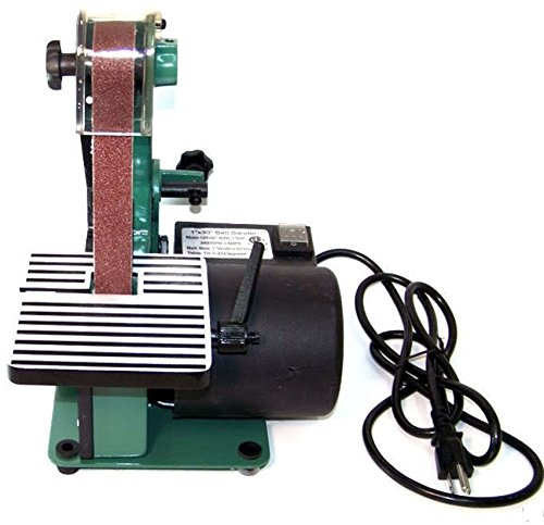 1'' X 30'' BELT SANDER 1/3 HP TOP BENCH SANDING POWER TOOL 3400 RPM TKT-11 by TKT-11