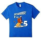 Kids 5th birthday boys shirt with a lion 4...