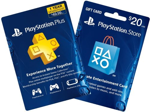 Amazon.com: 1-Year PS Plus + $20 PS Gift Card - PS3 / PS4 ...