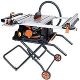 1500 W Evolution 056-0003 Power Tools-Fury 5-S Mehrzweck-Tischs/äge gr/ün//schwarz 255 mm 230 V