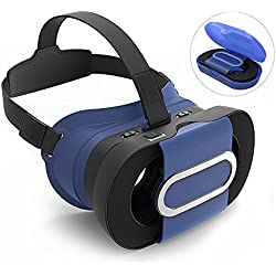 3D Virtual Reality Glasses VR Case Box Fit for iOS, Android, Windows For iPhone 7 , 7 plus 6 , 6s Plus 5s Samsung Galaxy S7 S6 Edge S6 S5 S4 Note 5 4 and other Smartphones + Free CB Stylus Pen
