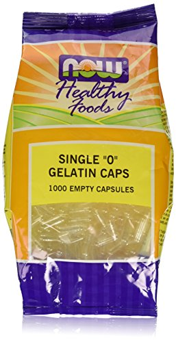 NOW FOODS Gel CAPS '0' 1000 CAPS