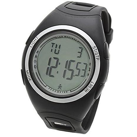LAD WEATHER lad011bksv - Reloj, correa de poliuretano color negro: Amazon.es: Relojes
