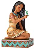 Enesco Disney Traditions by Jim Shore Pocahontas with Flit Stone Resin Figurine, 5.5""