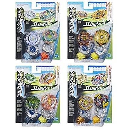 Amazon com: Playset Beyblade Burst Turbo Slingshock Dual