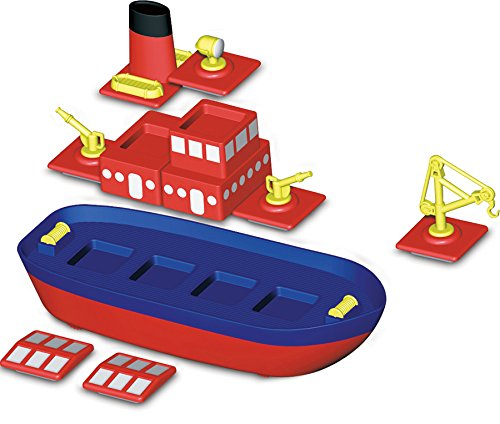 Popular Playthings 60201 Magnetic Build a Boat product image