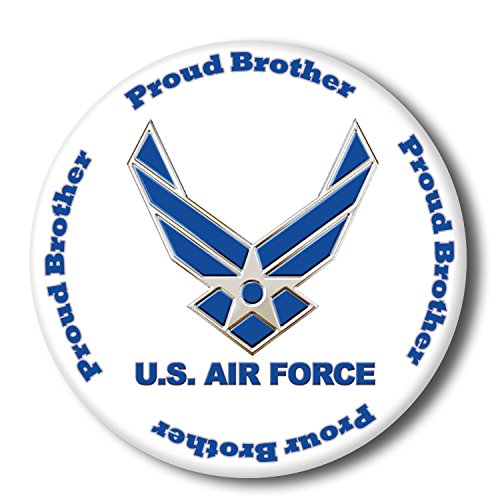 AIR FORCE PROUD BROTHER BUTTON (EACH) - Each Button Shopping Results