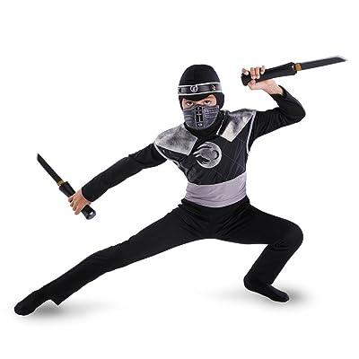 Dark Raven Ninja Classic Costume: Toys & Games