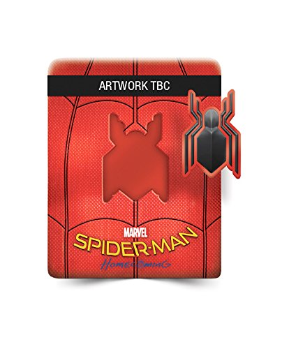 Spider-Man Homecoming [Blu-ray Steelbook + Comic] [2017]