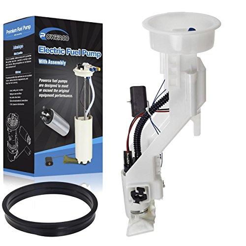POWERCO Electric Universal Gas E8412M Fuel Pump Module Replacement For BMW X5 3.0L/06-00 4.4L/03-02 4.6L W/Sending Unit (Best Premium Gas For Bmw)