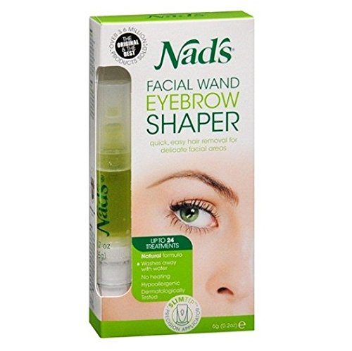 Nad's Eyebrow Shaper 0.2 oz (Pack of (Nads Facial Wand)