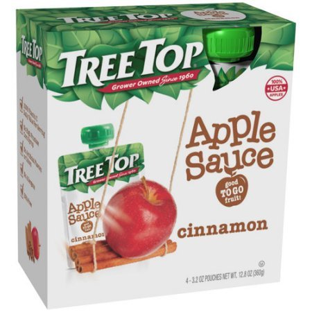 (Tree Top Cinnamon Apple Sauce (Pack of 2))