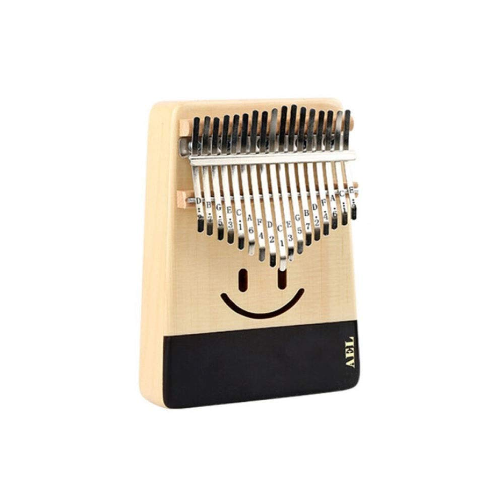 Youshangshipin Kalimba, 17-tone New Youth Minimalist Design Style Kalimba Thumb Piano, Students Adult Professional Playing Universal Style(Style 18, There Are A Lot Of Gifts; There Are Many Styles To