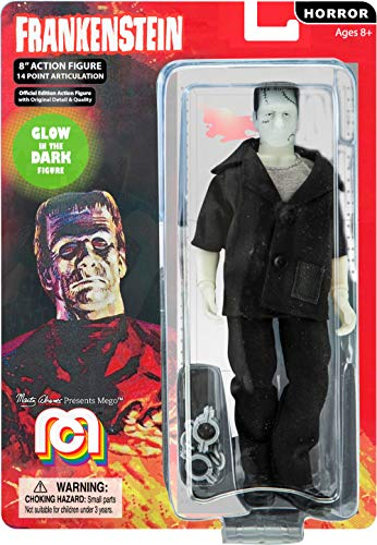 Mego Action Figures, 8″ Frankenstein, B&W (Limited Edition Collector'S Item)
