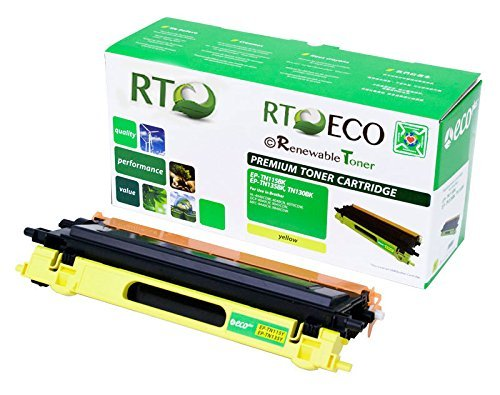 Renewable Toner TN-115Y Compatible Yellow Laser Cartridge Replacement for Brother Printers DCP-9040CN 9045CDN MFC-9440CN 9450CDN 9840CDW HL-4040 HL-4070 (Brother Dcp 9045cdn Laser)