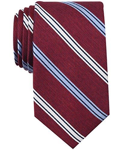 Nautica (NAV5C) Men's Bilge Stripe Tie, brick One Size from Nautica (NAV5C)