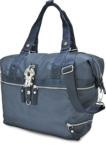 George Gina & Lucy Nylon Roots Window Seat Borsa tote navy