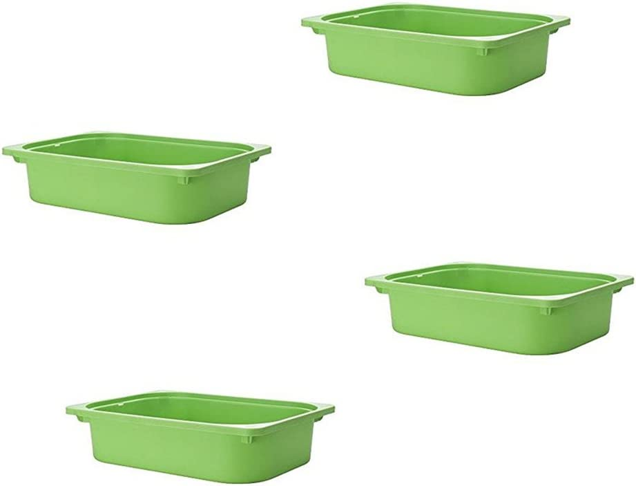 Ikea TROFAST Storage box (4, Green)