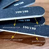 Nail Files 10 PCS Professional Double Sided Emery