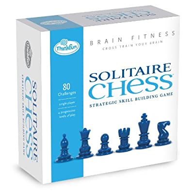 Brain Fitness Solitaire Chess: Game: Toys & Games