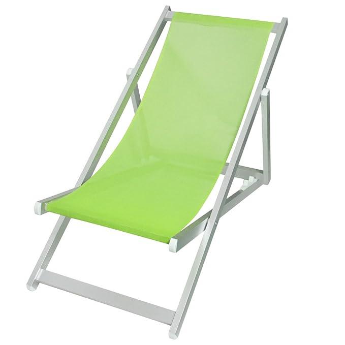 Bakaji silla tumbona plegable profesional con estructura ...
