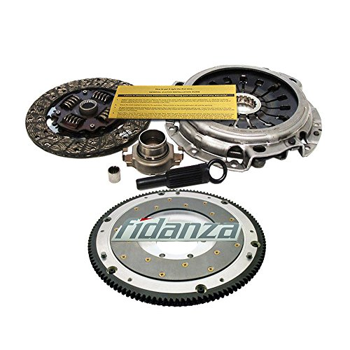 EXEDY CLUTCH KIT+FIDANZA ALUMINUM FLYWHEEL 1993-1999 MAZDA RX7 RX-7 13B-REW ()