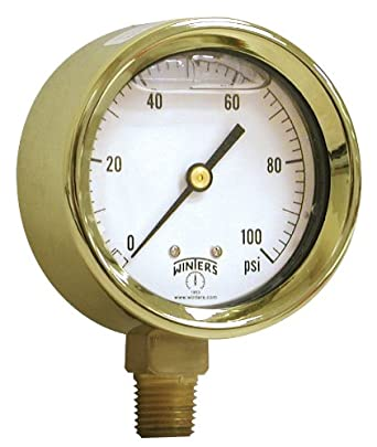 winters pbc series forged brass dual scale pressure gauge. Black Bedroom Furniture Sets. Home Design Ideas