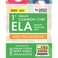 1st Grade Common Core ELA (English Language Arts): Daily Practice Workbook | 300+ Practice Questions and Video…