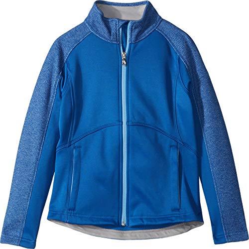 Spyder Girls Fleece - Spyder Girls' Bandita Stryke Jacket, Turkish Sea/Turkish Sea/Blue Ice, Medium
