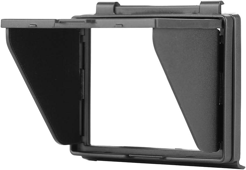 Schermo LCD Parasole Pieghevole per Nikon Fotocamera Pop-up Scudo Solare Cappuccio LCD Monitor Cover Protettiva per Fotocamera Nikon D850