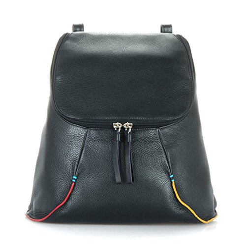 Backpack Mywalit Leather 1830 Pace Sanremo Collection Medium Black w4EqHr41