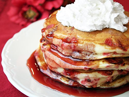 Raspberry Sour Cream Pancake Mix(24 oz) (Sour Cream Raspberry)