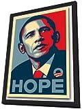 Barack Obama - 11 x 17 Framed RARE Campaign Poster