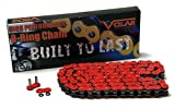 530 x 110 Links O-Ring Motorcycle Chain - Red