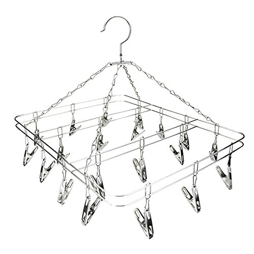 LVOERTUIG 20/24 Clip Sock Underwear Clothes Outdoor Airer Dr