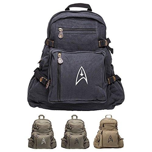 Star Trek Federation Army Sport Heavyweight Canvas Backpack Bag