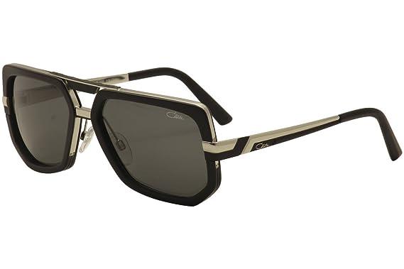 Amazon.com: Cazal 662 Gafas de sol 002sg Matte Negro ...