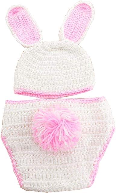 Ufraky Newborn Baby Photography Prop Boy Girl Photo Shoot Outfits Rabbit Style