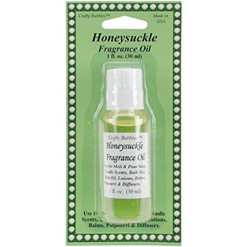 Fragrance Oils 1Oz-Honeysuckle (Crafty Bubbles)