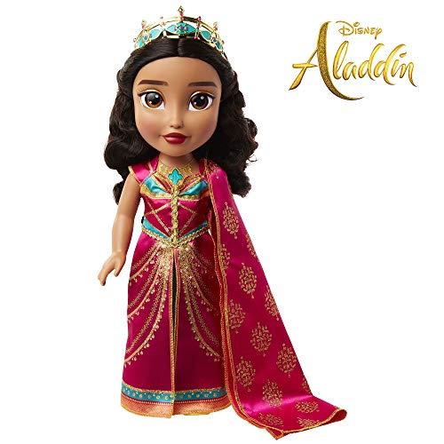 (Disney Aladdin Princess Jasmine Musical Singing Doll - Sings Speechless)
