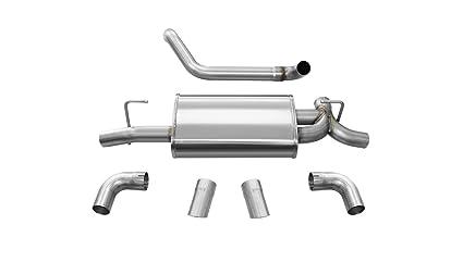 Amazon com: Corsa Performance 21013 Sport Axle-Back Exhaust System