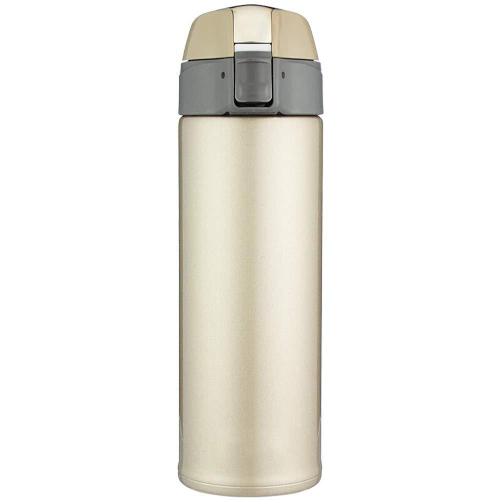 Sportflasche Isolier Becher Thermo Becher Travel Mug Kaffeebecher Wasserflasche Trinkbehälter Trinkflaschen-Einfache Tragbare Mode Mit Hoher Kapazität JINRONG