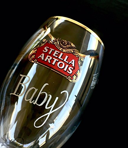 Stella Artois Chalice Engraving, STELLA CHALICE 40CL, chalice engraving, stella artois engraved, engraved beer glasses, Personalized Chalice Hand Engraved Free hand by Akoko Art Handengraved Crystal Glass (Image #4)